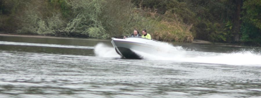 Kingfisher 440 jetboat - constructed by GFAB
